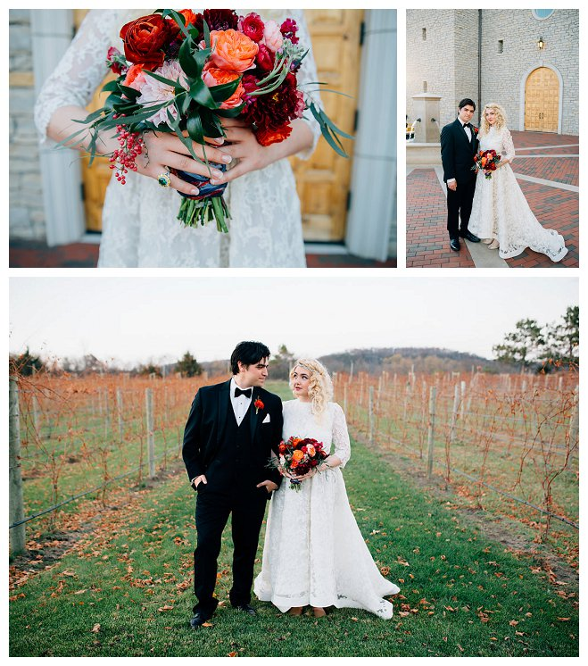 villa bellazza justina louise photography wisconsin bride groom wedding inspiration shoot marriage bridal wine decadent cake gold leaf lace flower floral bouquet midwest marriage love outdoor winery vineyard