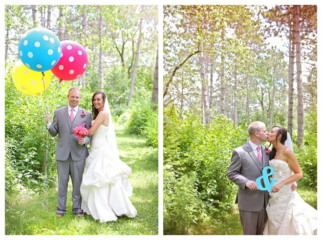 hailey lundborg photography wedding sonya gabe wisconsin wausau carnival festival circus color vibrant wedding couple bride groom